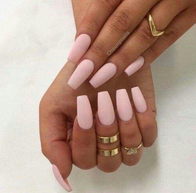 Matte nude pink | Claws | Pinterest | Nail nail