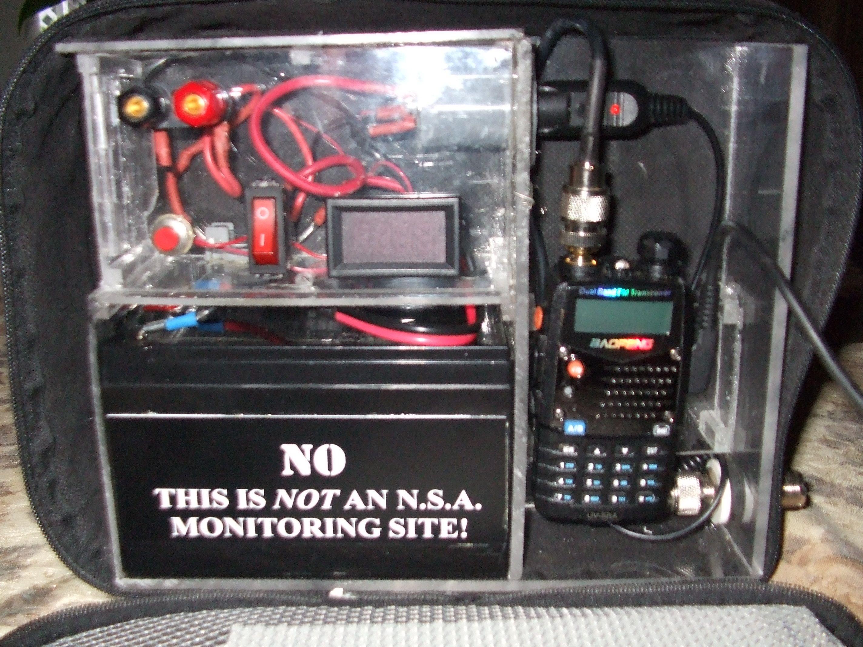 Shows Sealed Lead Acid Battery Ham Radio Ham Radio
