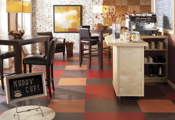 Linoleum Vs Vinyl Flooring What S The Difference Marmoleum Linoleum Kitchen Floors Vinyl Flooring
