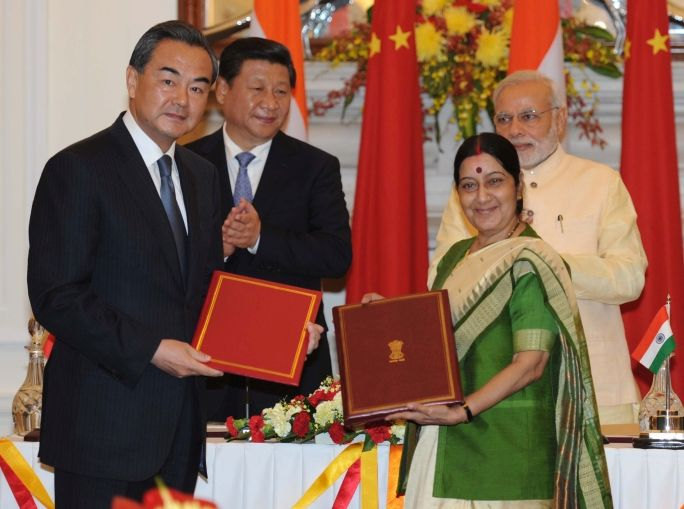 List of Documents signed during the State Visit of Chinese President Xi Jinping to India