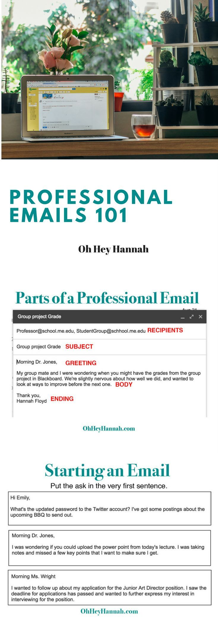 Everything There Is To Know About Writing Professional Emails To