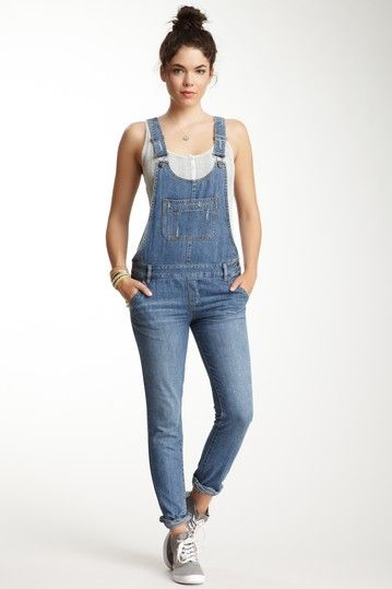 fad0fb3c8a The Wanderer Overalls  I like how they are like skinny jeans Skinny  Overalls