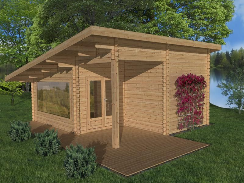 Modern Shed Roof Design Rustic Homes