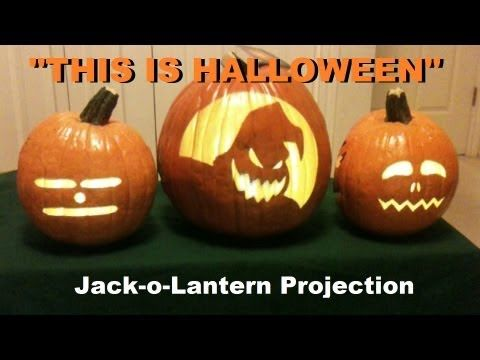 this is halloween singing pumpkins jack o lantern projection youtube