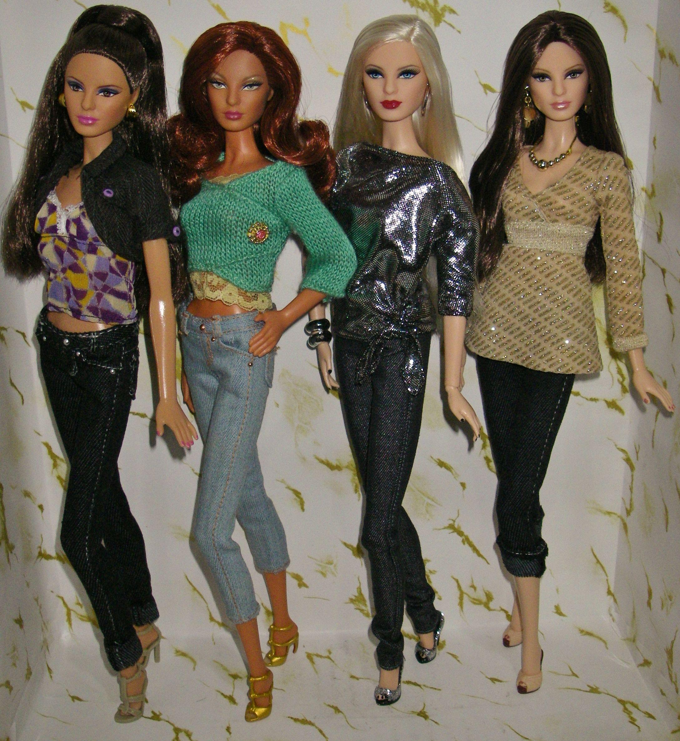 Barbie Face Louboutin Ropa Para Barbie Munecas Barbie Ropa