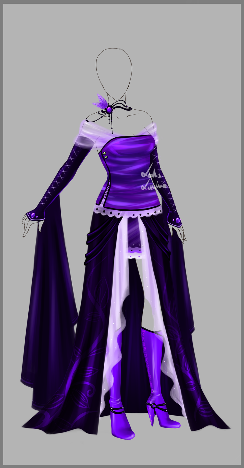 characterconcepts Outfit design 76 closed by