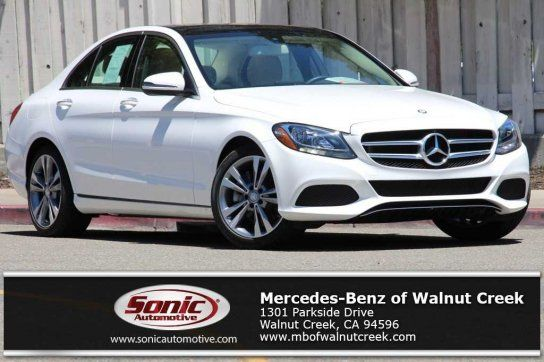 Sedan, 2017 Mercedes Benz C 300 Sedan With 4 Door In Walnut Creek,