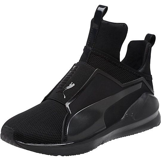 black high top puma shoes