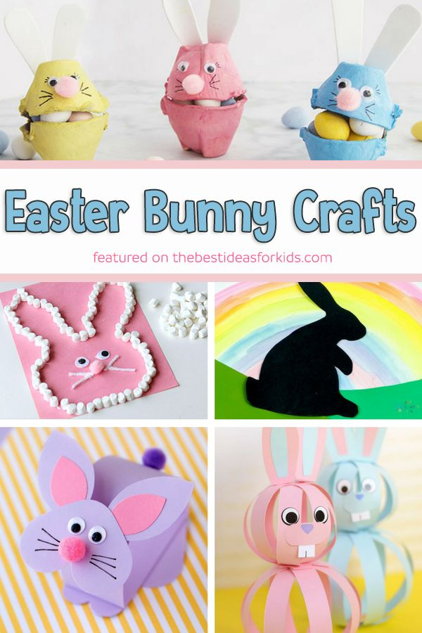 25 Easter Crafts For Kids Kids Craft Pinterest Easter Crafts