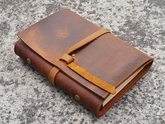 Image result for Leather bound notebook