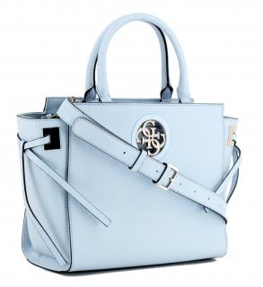 Guess Handtasche aus Kunstleder Hellblau   Maximilian