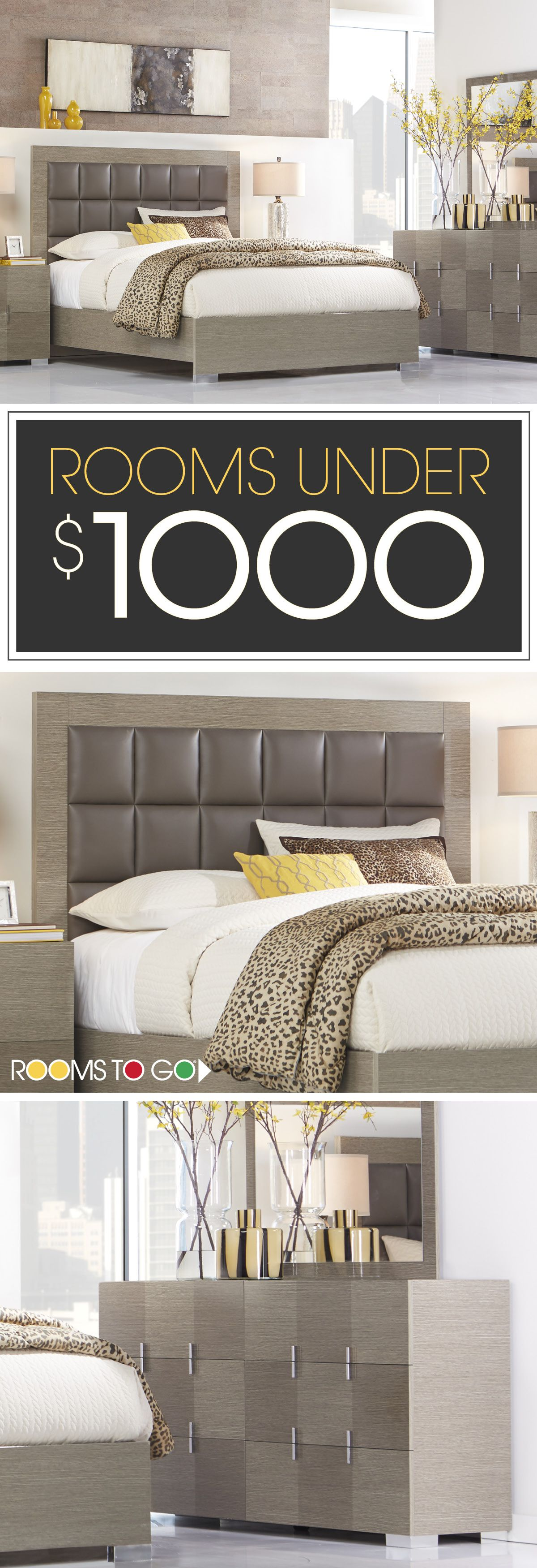 Visit Rooms To Go today, and save on our beautiful living