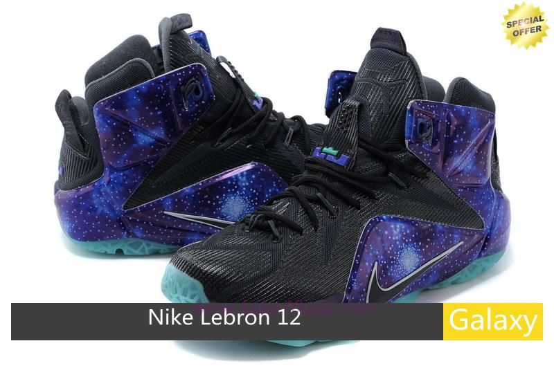 classic fit edc33 87284 Fast Shipping To Buy 684593-6041 Nike Lebron 12 EP Galaxy Blue Black