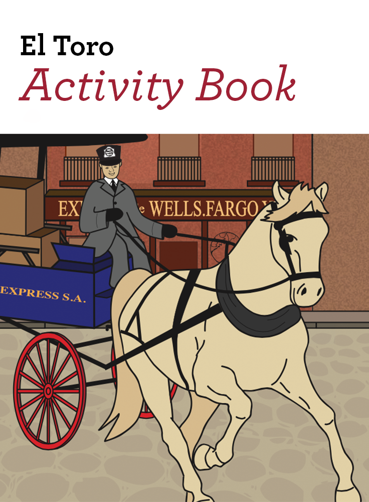 Download Our Educational Kids Coloring Book And Follow El Toro The Bull In Spanish A Favorite Horse Amo Kids Coloring Books Book Activities Wells Fargo