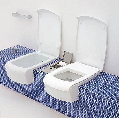 I prodotti di ceramiche appia nuova wc e bidet una for Prodotti di design