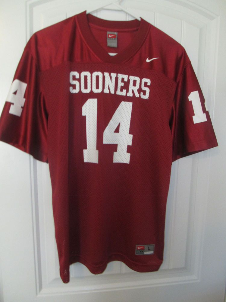 new arrival 9a712 b0008 Oklahoma Sooners football jersey - Nike youth Large #Nike ...