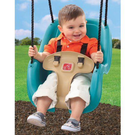Step2 Teal Toddler Swing With T Bar For Child Security With Weather