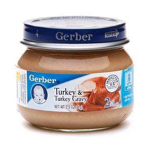Baby Turkey Chicken Baby Food Gerber Baby Food Baby Food Recipes