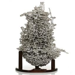 Cast #076 - Aluminum Fire Ant Colony Cast | anthill art in