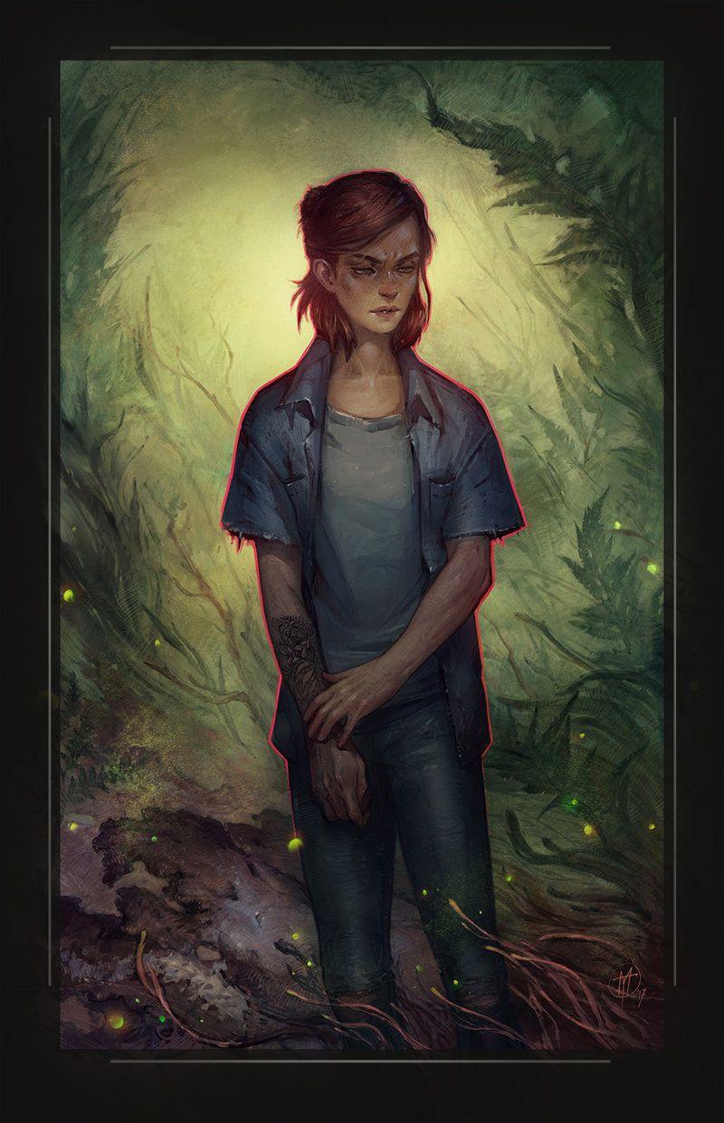 Ellie By Alteya The Last Of Us 2 Fan Art Digital Painting