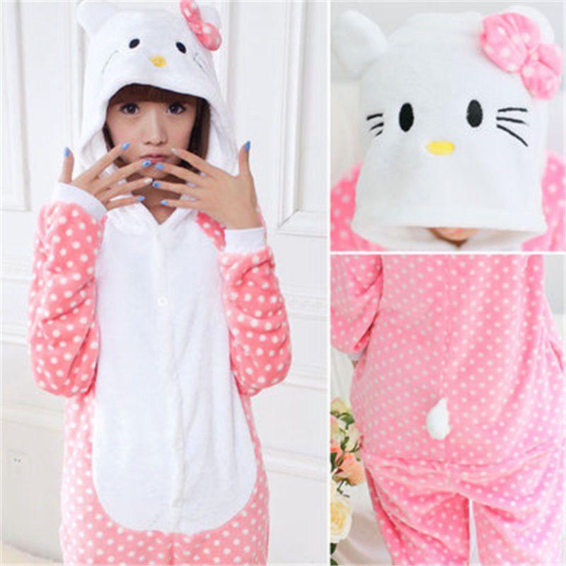 aa0b68eae Animal Onesies Teenage Adult Unisex Kigurumi Cosplay Costume Pyjamas ...