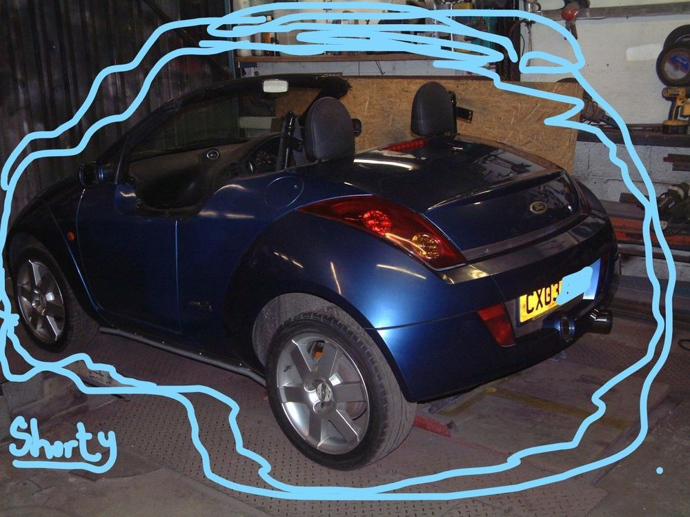 eBay FORD KA SHORTY MINI SHORTIE UNFINISHED PROJECT P/X
