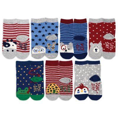 Days Of The Week Socks Ed Ellen Degeneres 7 Pack Days Of The Week Socks Ed Ellen