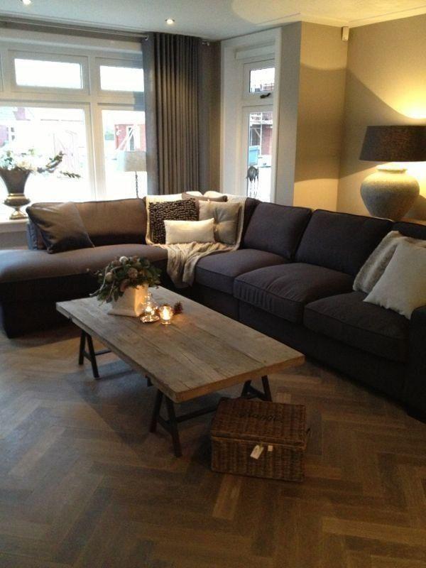 Maison manon l i v i n g r o o m pinterest banken interieur en voor het huis - Eigentijdse eetkamer decoratie ...