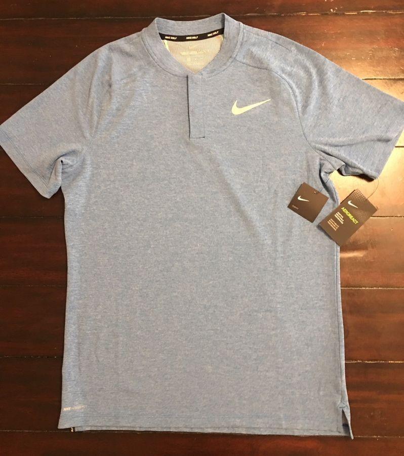 8dd59410 Men's Nike AeroReact Momentum Golf Blade Polo Shirt 890046 Modern Slim Fit  M NEW#AeroReact#Momentum#Golf