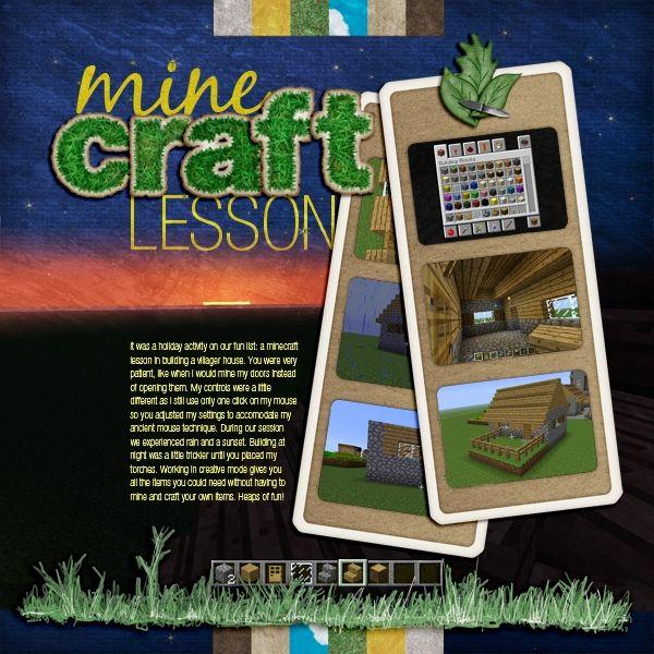 Minecraft Lesson Jacqui Smith Gallery Scrap Girls Digital