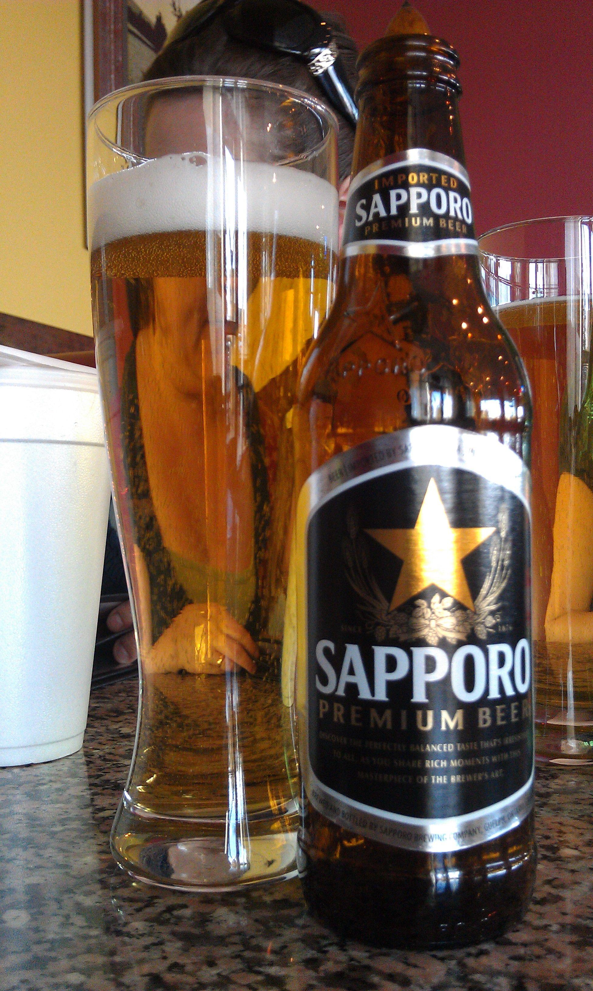 67  poor - Sapporo Premium Beer - Sapporo Breweries http://www.beeradvocate.com/beer/profile/284/10071/