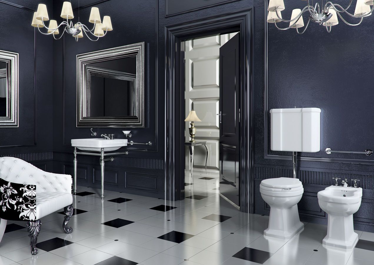 Classic Bathroom Designs Small Bathrooms Enchanting Classic Bathroom Design Ideas With The Uniqueness And Beauty Inspiration Design