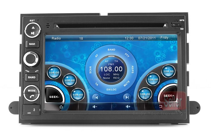 2005 ford freestyle dvd player not working
