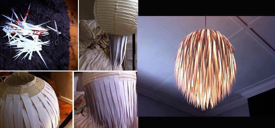 uma ideia para renovar candeeiros