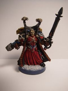 Sepulchre of Heroes: Chief Librarian Mephiston, Lord of Death www.sepulchreofheroes.blogspot.com