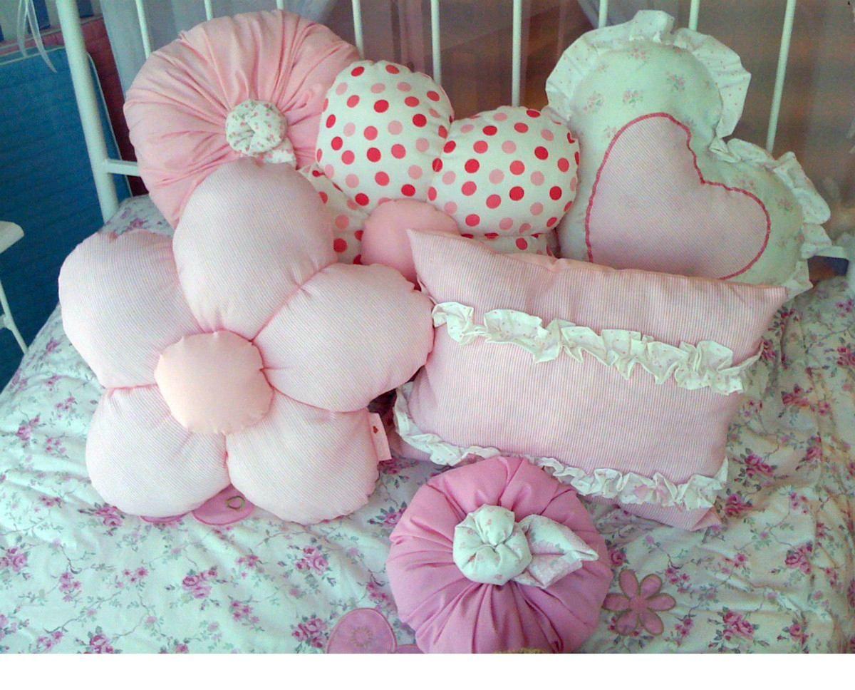 Almohadas decoradas deco corazones cojines y hacer - Como hacer almohadones ...