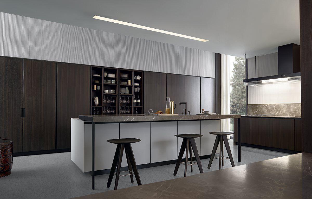 Arthena Kitchen By Varenna Poliform Kitchen Fittings Kitchen Design Plans Fitted Kitchen Designs
