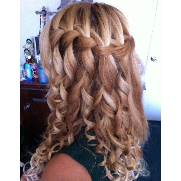 Cute Hairstyles For Medium Length Curly Hair Hair Styles Homecoming Hairstyles Grad Hairstyles