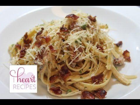breathtaking Dinner for two : Alfredo Carbonara - I Heart Recipes