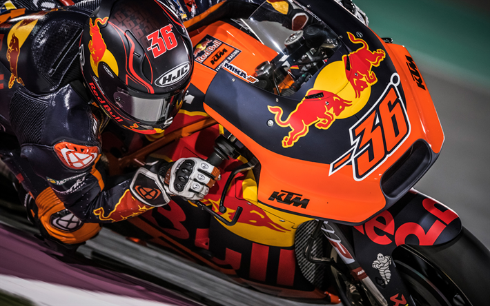 Download Wallpapers 4k Mika Kallio Close Up Motogp Sportsbikes Raceway 2018 Bikes Ktm Ag Ktm Rc16 Besthqwallpapers Com Motogp Ktm Sports Wallpapers