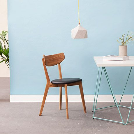 Swedish Furniture nova chair in oak woodswedish living #monoqi | seating
