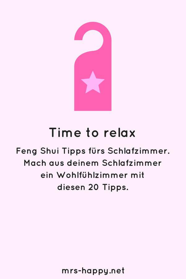 Zeit zum Entspannen - mit diesen 20 Feng Shui Tipps machst du aus - feng shui bilder schlafzimmer