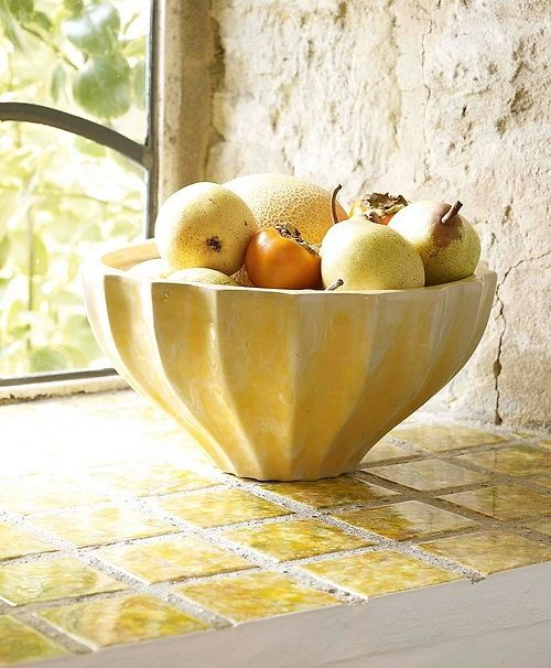 bowl and tile
