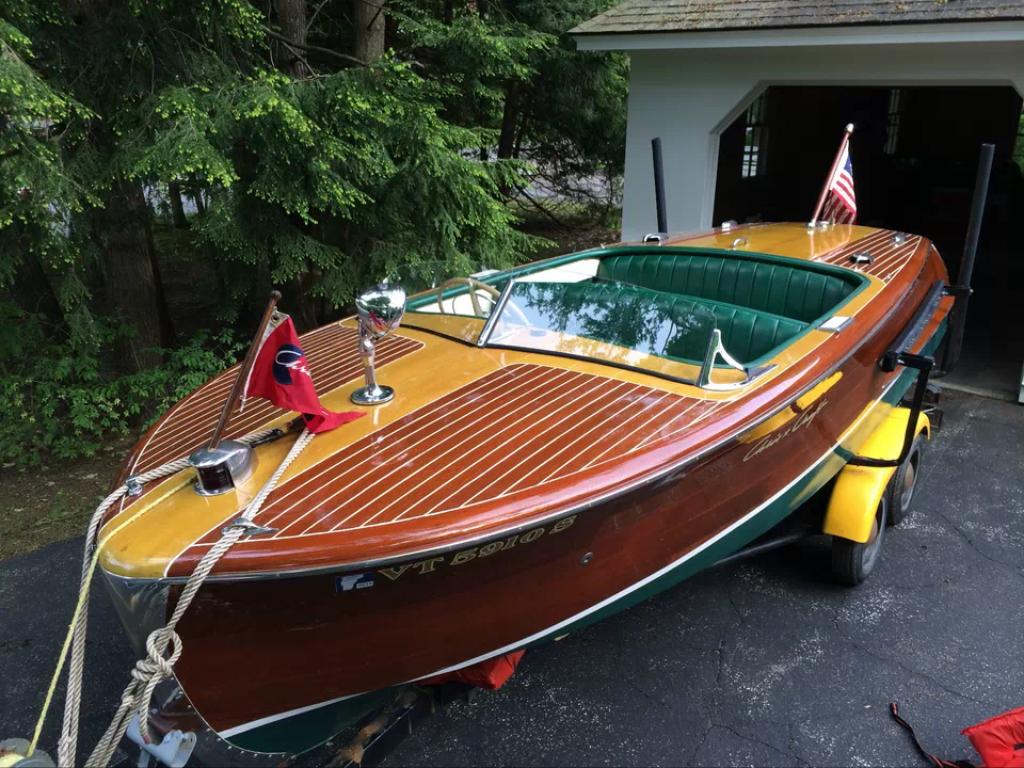 1951 18' Chris Craft Riviera | Chris Craft Boats | Runabout boat