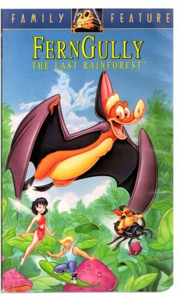 FernGully: The Last Rainforest | VHS Movies | Childhood movies, Vhs