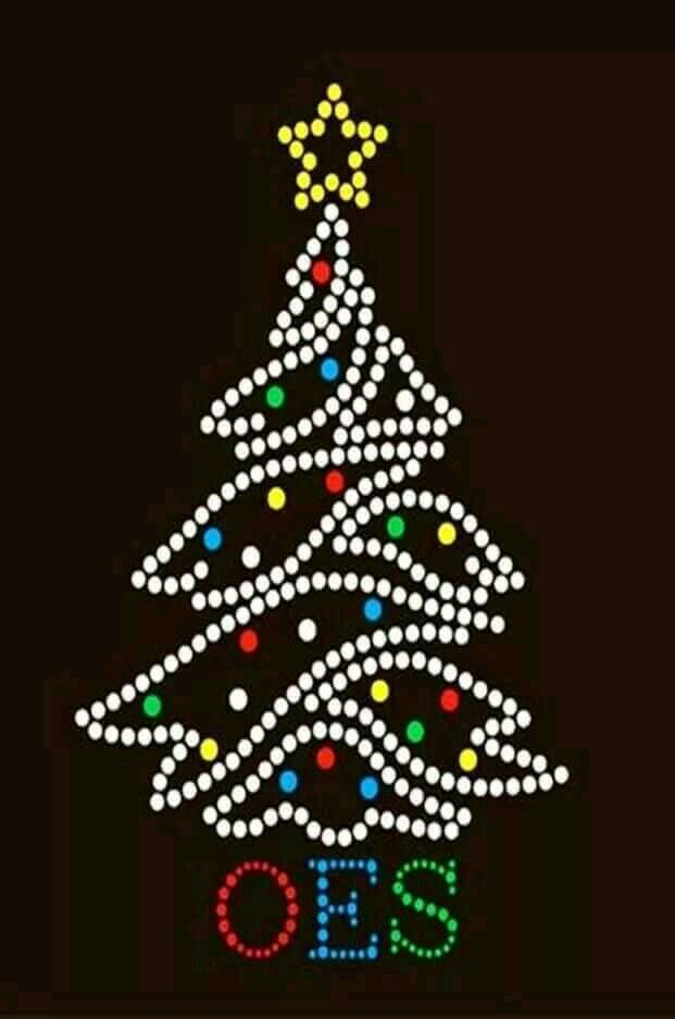 Merry Christmas (With images) | Eastern star, Order of the eastern star, Holiday graphics