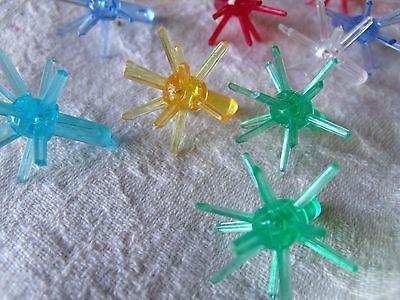 Darice Ceramic Christmas Tree Accessories Small Twist Pin Multi Color 0.5 Inch