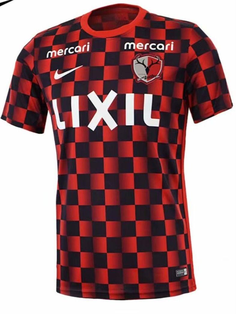 2020 21 Kashima Antlers 2nd Away Red Black Thailand Soccer Jersey Aaa In 2020 Kashima Antlers Soccer Jersey Soccer