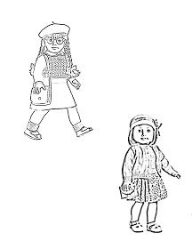 Elegant American Girl Coloring Pages 33 American Girl coloring page