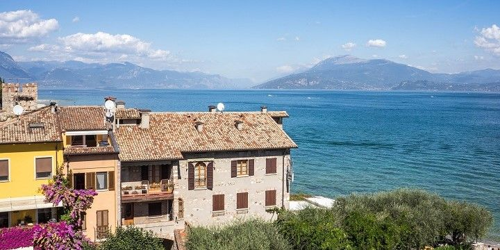 Sirmione, Lake Garda, northern Italy, Italy, Europe